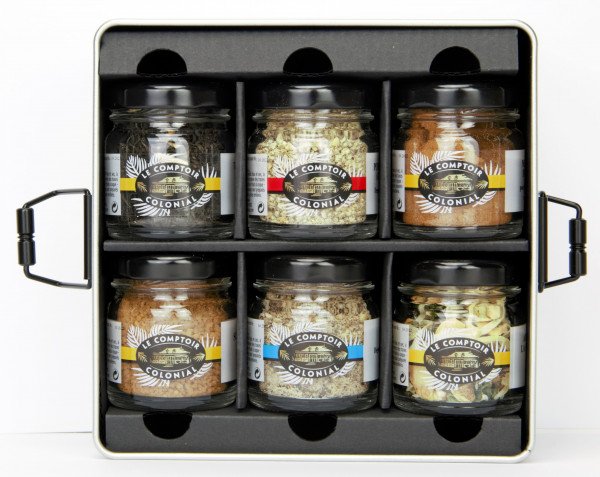 COFFRET DE NOEL D'EPICES ASSORTIMENT 2