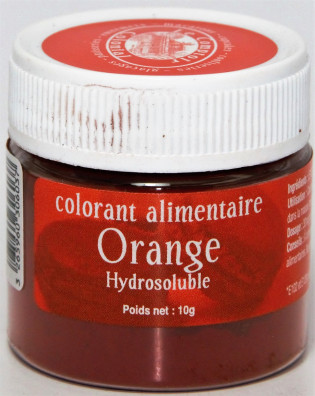 COLORANT ALIMENTAIRE ORANGE HYDROSOLUBLE