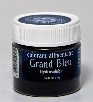 COLORANT ALIMENTAIRE GRAND BLEU HYDROSOLUBLE