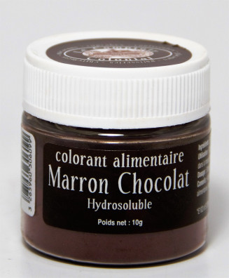 COLORANT ALIMENTAIRE MARRON CHOCOLAT HYDROSOLUBLE