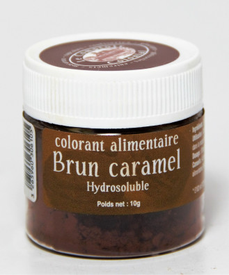 COLORANT ALIMENTAIRE BRUN CARAMEL HYDROSOLUBLE