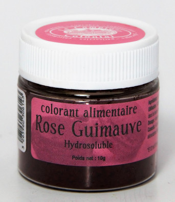 COLORANT ALIMENTAIRE ROSE GUIMAUVE HYDROSOLUBLE