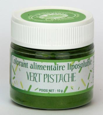 COLORANT ALIMENTAIRE LIPOSOLUBLE VERT PISTACHE E102-E133