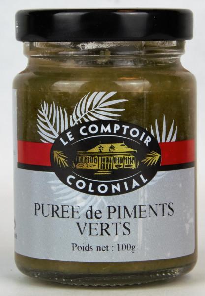 PURÉE DE PIMENTS VERTS