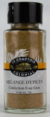 MELANGE D'EPICES CONFECTION FOIE GRAS