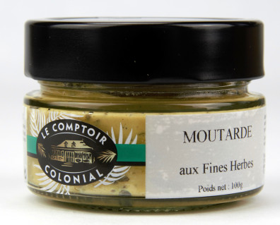 MOUTARDE AUX FINES HERBES