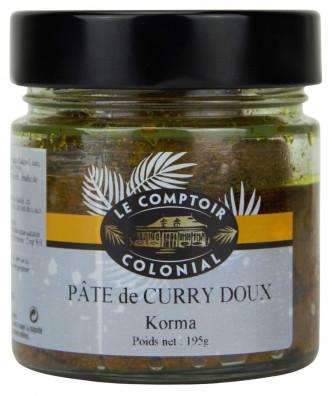 PATE DE CURRY DOUX KORMA