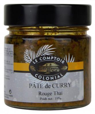 PATE DE CURRY ROUGE THAI