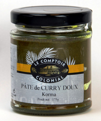 PATE DE CURRY DOUX KORMA