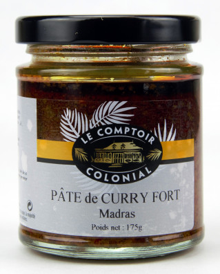 PATE DE CURRY FORT MADRAS