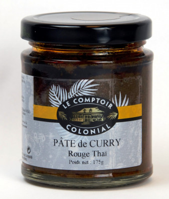 PATE DE CURRY ROUGE THAI