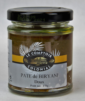 PATE DE CURRY BIRYANI (doux)
