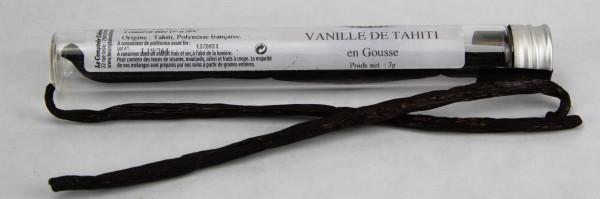 VANILLE TAHITI (Vanilla tahitensis) EN TUBE 1 GOUSSE